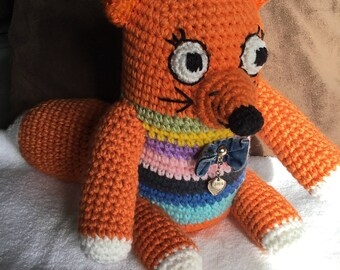 Crochet Pretty  fox