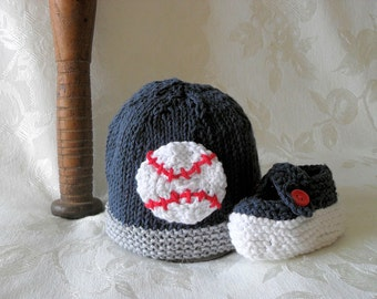 Baby Hats Knitting Knit Baby Beanie Knit Baby Hats Hand Knitted Baby Hat Cotton Knitted Baseball Hat New York Yankees Hat