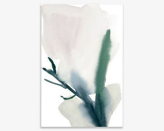 Plant Study I, print on fine art paper