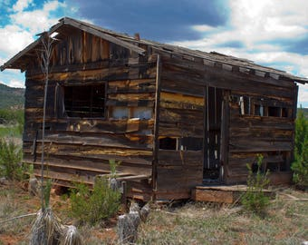 Abandoned building Native American reservation Arizona