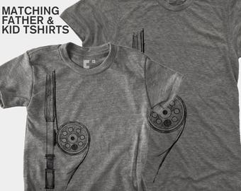 Fly Fishing, Father Son Matching Shirts, Matching Shirts, Dad Baby Matching Shirts, Father Daughter Matching Shirt, Dad Daughter, Fly Rod