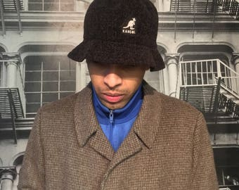 Vintage Kangol brown winter hat - One size