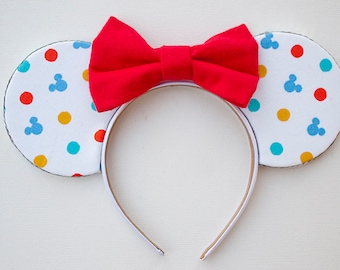 Disney Ears / Mickey Mouse Ears / Minnie Mouse Ears / Colorful Mouse Ears / Birthday Ears / Classic Mickey Ears / Disneyland Ears / Gift Her