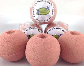 Palmarosa Passion Bath Bomb