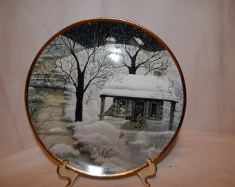 """Vintage ''Midnight Visitors"""" from the Franklin Mint designed by ''Carol Endres"""