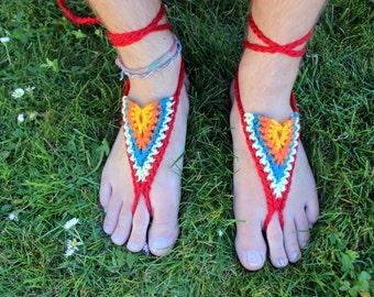 Barfuss Sandalen - südwestlichen Stil - Erdung, Erdung Sandalen