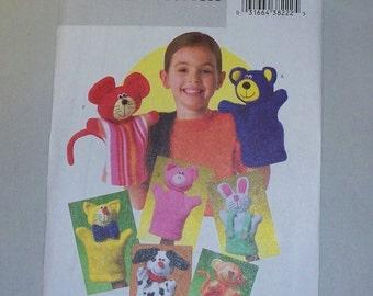 New Butterick Hand Puppet Pattern B4209 ( Free US Shipping )