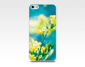 iphone 5s case iphone 4s case 5 floral iphone case 6 botanical photography case fine art iphone case flower iphone 5 iphone 4 case teal gold
