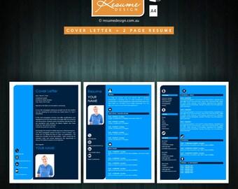 Resume Design Creative Template 9 Professional | Resume Writing | Cover Letter | Resume Design Service | Resume Design Package
