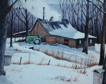 Maple Sugar Shed - Vermont