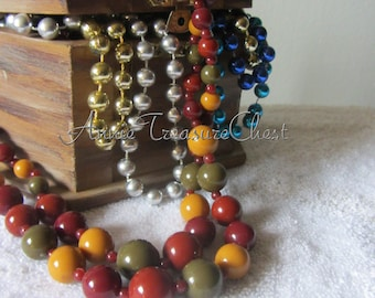 Double Strand Harvest Necklace