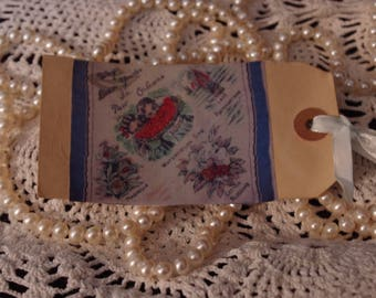 Handmade Vintage Reproduction Souvenir Gift Tag