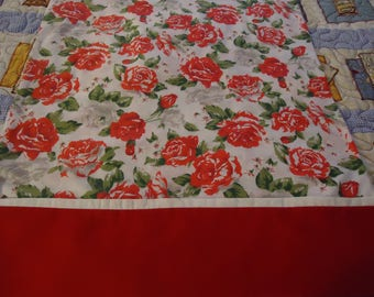 Red Flower Pillow Cases