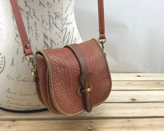 Dooney & Bourke Small Crossbody Bag British Tan Pebbled Leather