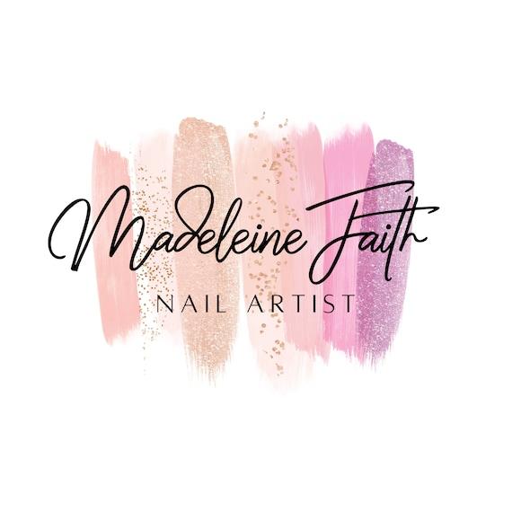 Nail Artist Logo Logo Design Nail Salon Logo Gel Nail Logo