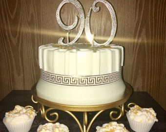 90th Bday Candle Cake