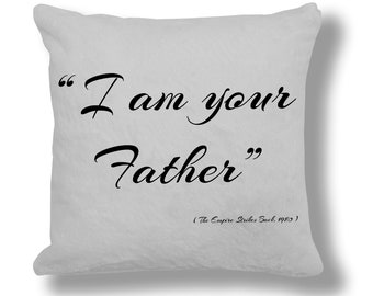 The Empire Strikes Back 1980 Film Quote Cushion Cover (FQ021)