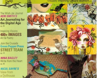 Sale! 7 Magazines! 6 Artful Blogging and 1 Where Women Create Stampington - See IMAGES and Description