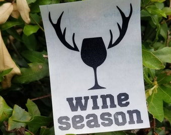 Wine Season Decal