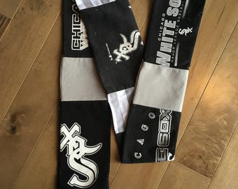 Chicago White Sox Upcycled T-Shirt Scarf