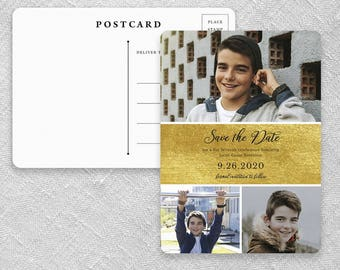 Union Square Bar Mitzvah - Postcard - Save-the-Date