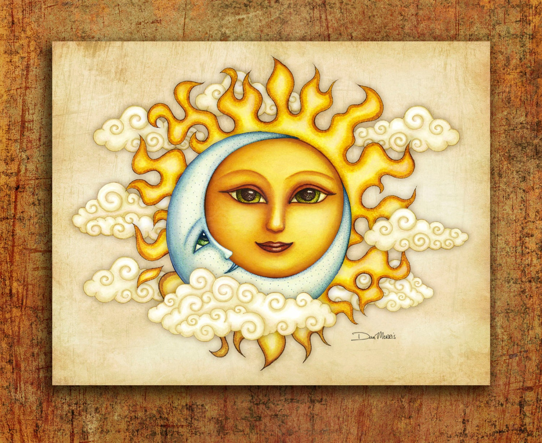 Dan Morris signed Art Print Perfect Pair Sun