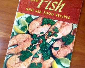 250 Fish and Seafood Recipes 1940 Cookbook