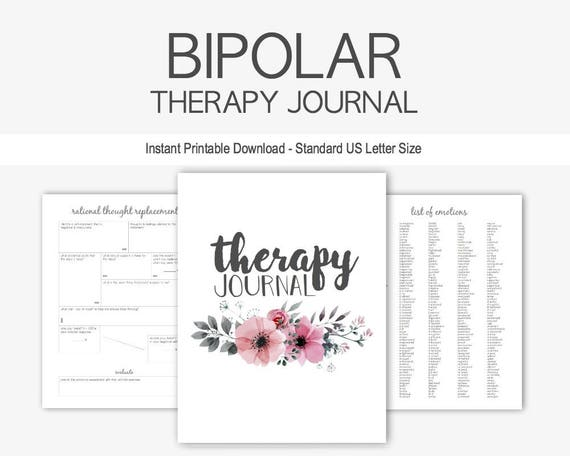 bipolar disorder therapy journal mental health depression