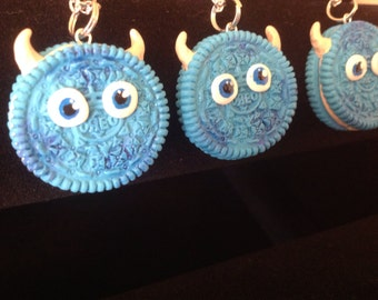 Monsters inc oreo necklace (Sulley)