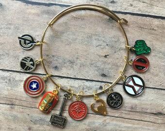Stitch Marker Bracelet - Avengers