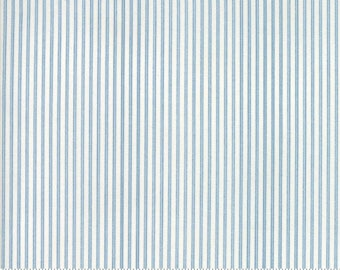 Anns Arbor Cream Blue 14849 23 - Moda Fabrics 100% Cotton Quilting Fabric by Minick and Simpson