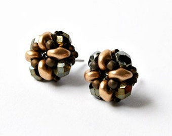 small bead earrings