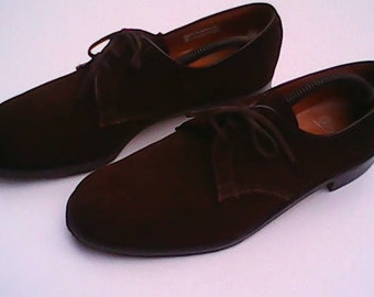 Suede Shoes By Wearra 1940s.