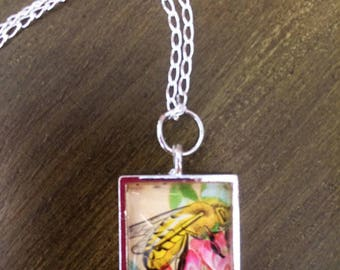 Hand Made Bumble Bee Pendant
