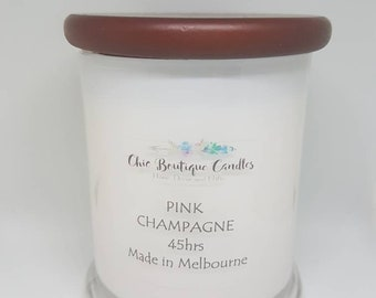 Soy Candle - Pink Champagne