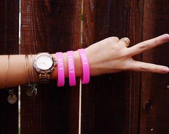 Breast Cancer Support Bracelets