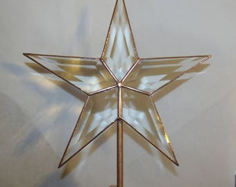 Classic Rustic Star Christmas Tree Topper