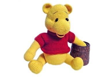 Amigurumi crochet bear - FREE SHIPPING