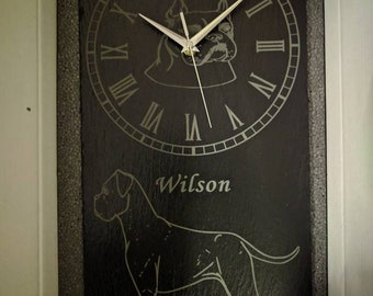 Slate Clocks Personalized made to order