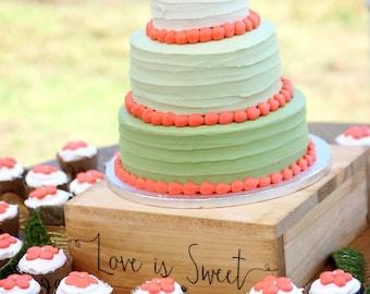 Antler Cake Topper Rustic Wedding Cake Topper Buck and Doe Wedding Country Wedding Wood Cake Topper Wedding Cake Topper #DownInTheBoondocks