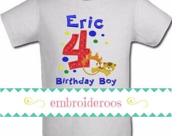 Circus Tiger Birthday Boy or Girl