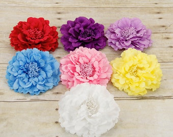 Silk Peony Flower for Dog Collar, Dog Collar Flower Attachment, (Collar not included), Collar Accessory, Flower, Dog Accessory