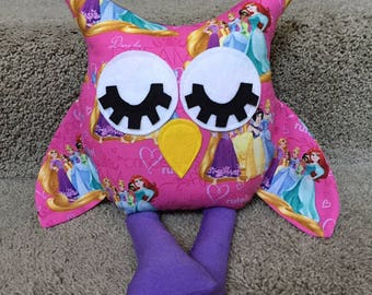 Disney Princess Handmade Stuffed Owl