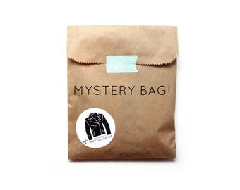 Mystery Bag | Grab Bag | Surprise Inside | Leather Goods | Upcycled Leather | Surprise Gift