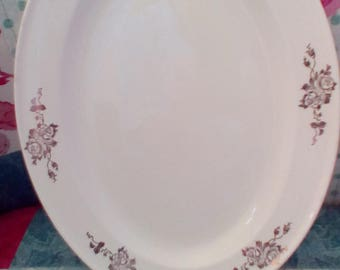 Edwin M. Knowles China Searving Platter