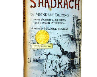 1953 Edition Shadrach by Meindert De Jong Illustrated by Maurice Sendak  Newbery Award Book  RARE