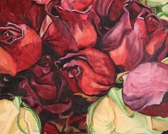 Fade Together - Unframed Original Painting
