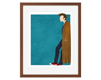 Doctor Who print - the Tenth Doctor/David Tennant