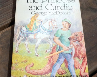The Princess and Curdie/George MacDonald/Chariot Book/Paperback Children's Chapter Book/Science Fiction/Magic and Adventure Literature/