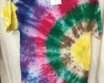Tie Dyed T-Shirt Adult Medium  (AM-8)